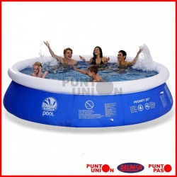 Piscina Inflable 5377 lts con filtro