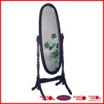 Espejo oval de pie