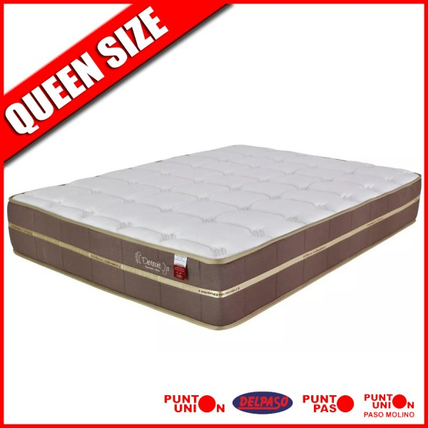 Colchon Detroit resortes Queen