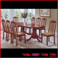 Comedor Vulcano 8 sillas