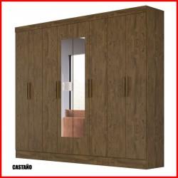 Placard  8 puertas con espejos - Diplomata
