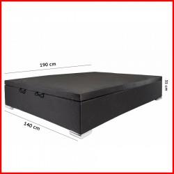 Box baúl 2 plazas