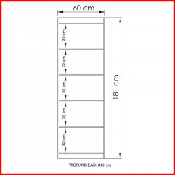 Biblioteca Estanteria - 2905