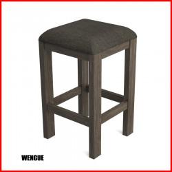 Banco tapizado en madera - 02