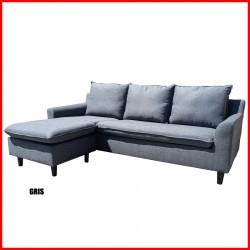Sofa de 3 cuerpos chaiselong - Andy