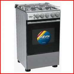 Cocina Enxuta a gas plata