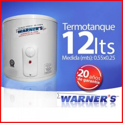 Termotanque 12 lts Warners