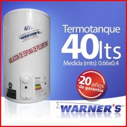 Termotanque 40 lts Warners