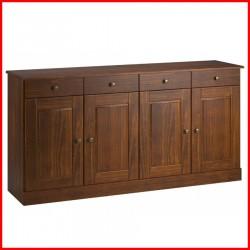 Aparador 4 puertas madera - Agata