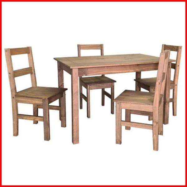 Comedor Lucia 4 sillas estilo mexicano - CS044