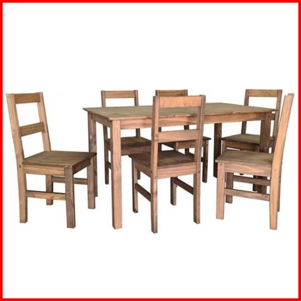 Comedor Lucia 6 sillas estilo mexicano - CS062