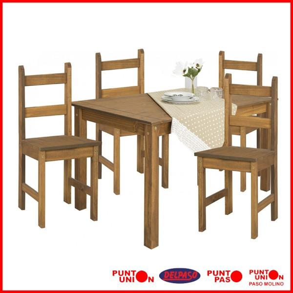Comedor Lucia 4 sillas