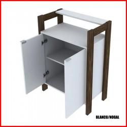Armario minimalista 2 puertas - 1008