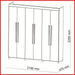 Placard 6 puertas - Elegance